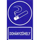 Dohányzóhely - Vinil öntapadó
