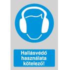 Levonó vinil 170x250 mm - Hallásvédő kötelező
