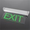 LED vészvilágító lámpatest (9AT3115) Exit felirat