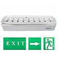 LED vészvilágító lámpatest (XL101) 2.4 Watt fehér