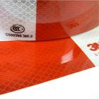 -- Reflex szalag 50 mm - piros / fehér