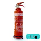 Tűzoltó készülék (ABC porral oltó) - 1 kg falra szerelhető
