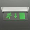 LED vészvilágító lámpatest (TA5113) Kijárat lefelé